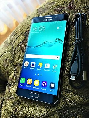 Samsung Galaxy S6 Edge+ 32GB Black Sapphire (INTERNET, WIFI OR...