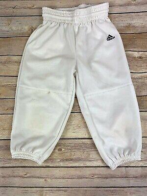 1c12376fb5fbe4 Adidas Climalite Baseball Pants Boys size XS White Elastic Drawstring  Waist. $. 12.99. Buy It Now
