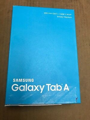 Samsung Galaxy Tab A SM-T350NZ 16GB, Wi-Fi, 8in - Smoky Titanium