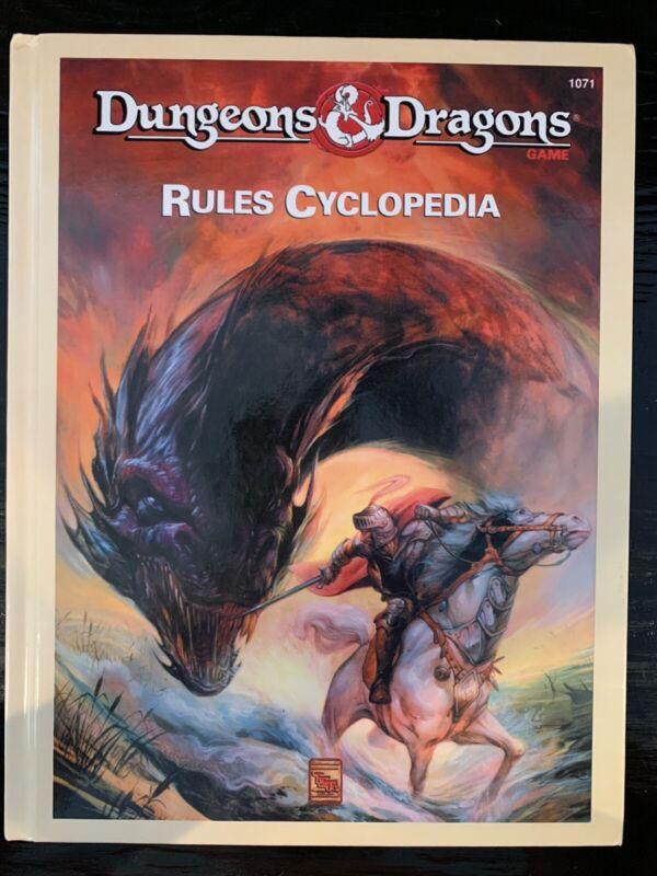 D&D: Rules Cyclopedia (Hardcover) - TSR 1071 - PBR
