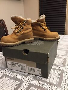 Timberland brand - size 7 toddler boots