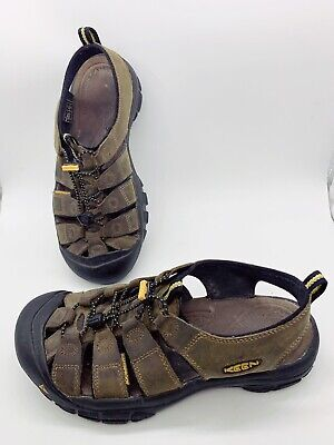 KEEN Men Brown Hiking Water Summer Sandals Shoes Sz 9.5 Used Great Condition
