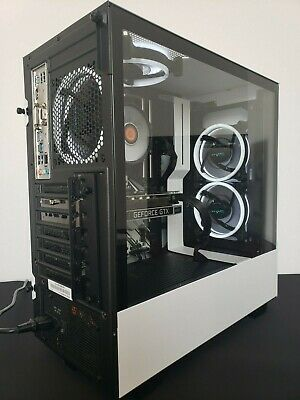 NZXT ICE Gaming PC i7 9700k GTX 1650 SUPER 16GB Desktop I1 LIFETIME WARRANTY