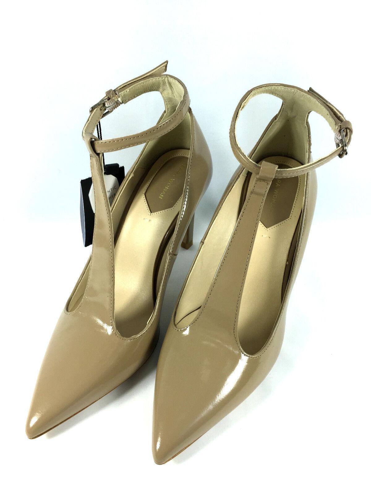 zara beige t bar high heel court shoes size 37 38 39 40 ebay
