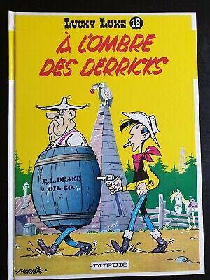 bande dessinée BD : LUCKY LUKE - 18 - a l'ombre des derricks - 1987