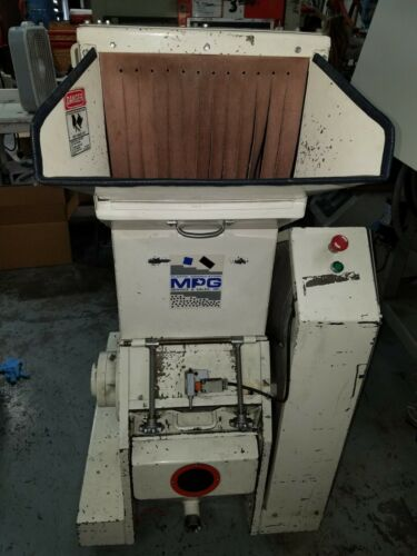 MPG 11 x 14  10 HP  Plastic Granulator  Very powerful /  NICE