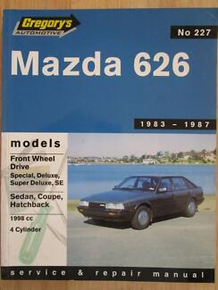 Mazda 626******1987 workshop manual Annandale Townsville City Preview