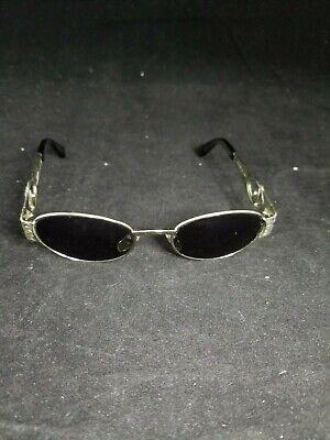 GIANNI VERSACE Mens Womens Vintage Designer Sunglasses Silver MOD S51 26M 18318