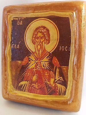 Saint Aglaeus Agios Aglaios Aglaeos  Christianity Church Icon On Wood