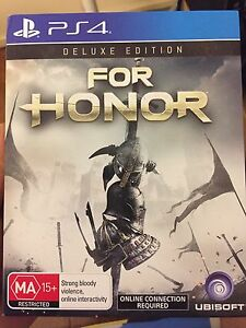 BRAND NEW PS4 FOR HONOR DELUXE EDITION Bundoora Banyule Area Preview