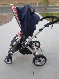 Redsbaby Pram (stroller) with upgraded wheels
