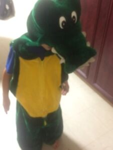 Kids costume: dragon, ghost, crocodile, monster. size4-6year-old