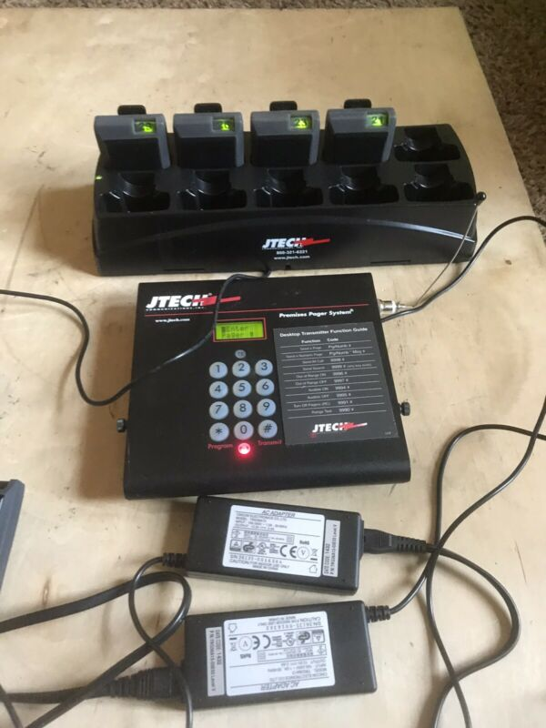 Jtech Premises Pager System Transceiver