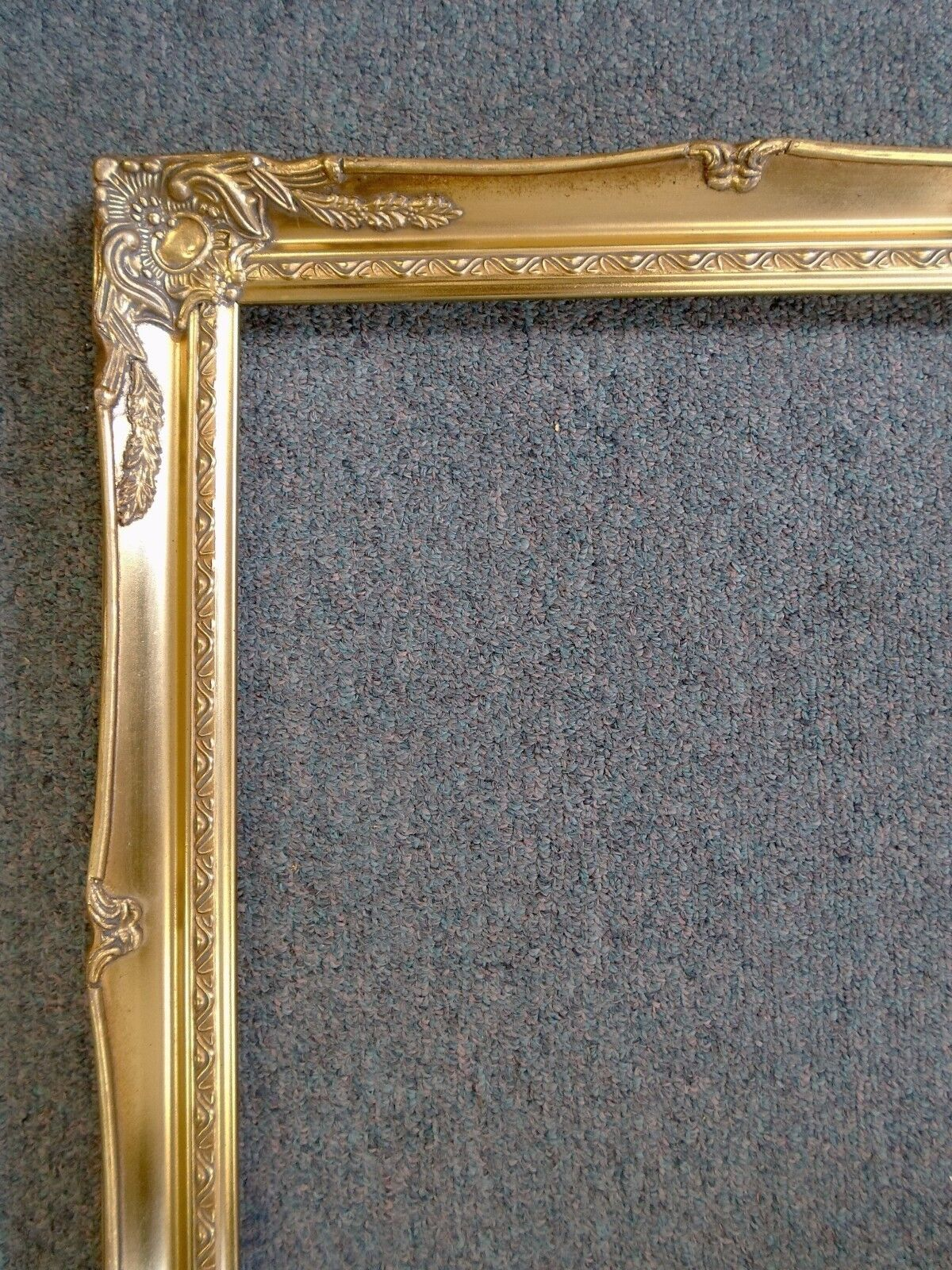 Picture frame 12x16 vintage old gold antique style for Small vintage style picture frames
