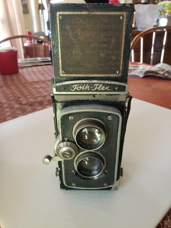 Rare Foth-Flex II Camera with f/3.5 Lens