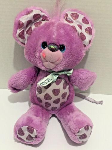 "Vintage Kenner 1989 Hallmark Yum Yums Goody Grape Mouse 13"" Purple Plush"