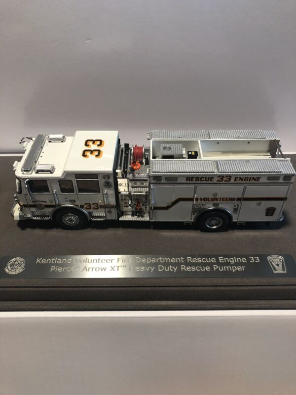"""Fire Replicas Kentland Volunteer Rescue Engine 33 """"Sold out"""""""