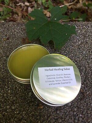 Herbal Healing Salve Calendula, Comfrey, Plantain, Echinacea, Yarrow, Vitamin -