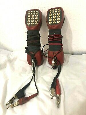 Lot Of 2 -chesilvale Digalert Butt Set Tester Uts-4 Isdn Tester