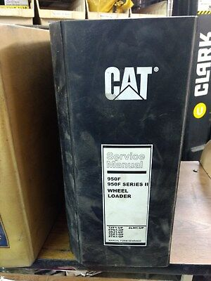 Caterpillar Cat 950 950f Wheel Loader Service Manual 7zf 6yg 4dj 5sk 8tk 2lm
