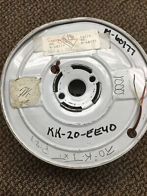 New 1000 Roll Type K Thermocouple Wire 20ga Solid Marlin Manufacturing M60177