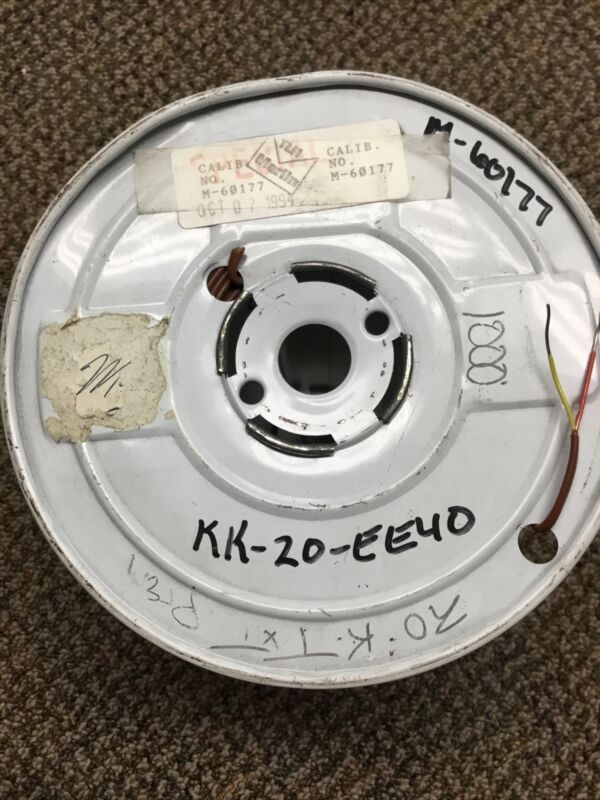 New 1000' Roll type k thermocouple wire 20Ga Solid Marlin Manufacturing M60177