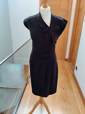 Hoss Intropia Black Bodycon Dress Size 38