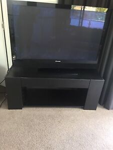 Black TV stand West Hobart Hobart City Preview
