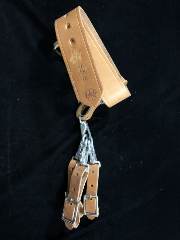 Vintage KLEIN 5208 Belt with extra clips