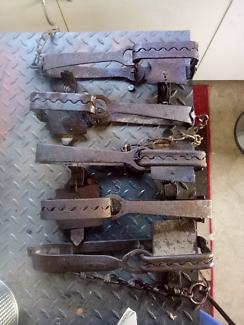 Old rabbit / dog traps