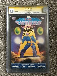 Thanos Quest #1 Signed by Stan Lee