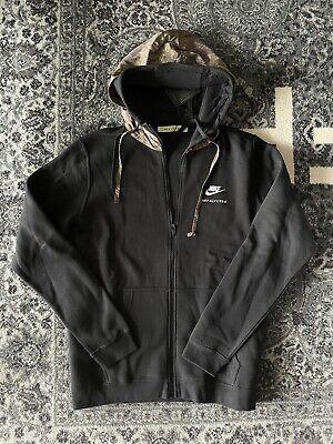 1017 ALYX 9SM x Nike Hoodie Large BNWT Double Hooded Black Matthew M Willams MMW
