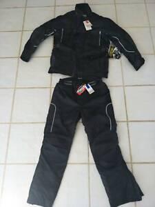 Motorcycle jacket pants roadbike wet weather gear