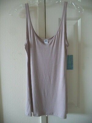 4 Way Cami (Old Navy Wear It 2 Ways Cocoa Beige V-Neck Front, Scoop Back Tank Top Cami 4 6 S )