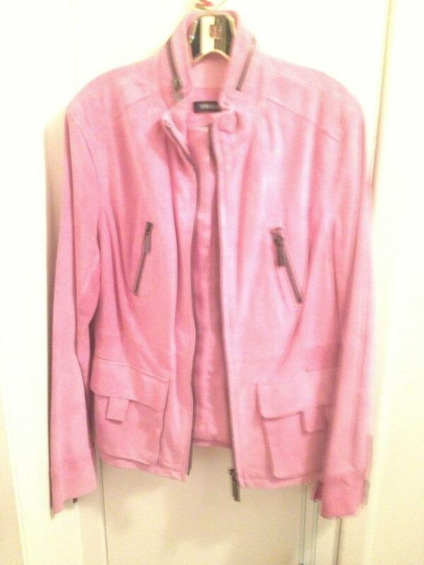 Pink Leather Jacket | eBay