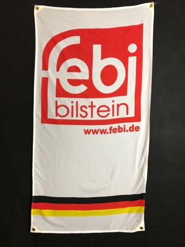 Febi Bilstein Flag - bmw vw aplina ruf 356 M3 911 audi quattro mercedes