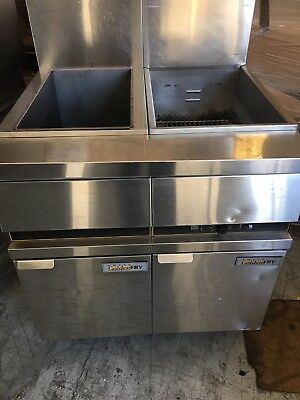 Anets Golden-fry High Efficiency Gas Fryer And Warmer