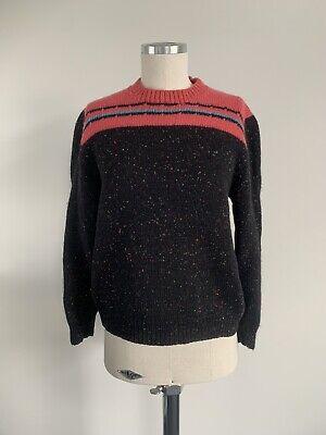 80s Sweatshirts, Sweaters, Vests | Women Vintage Handknitted Sweater 1980s 1990s Wool Knit Jumper Pullover $28.21 AT vintagedancer.com