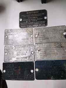Old holden plates Highland Park Gold Coast City Preview