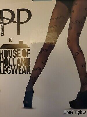 Pretty Polly for House of Holland Legwear OMG Tight Made in England (2Pack)