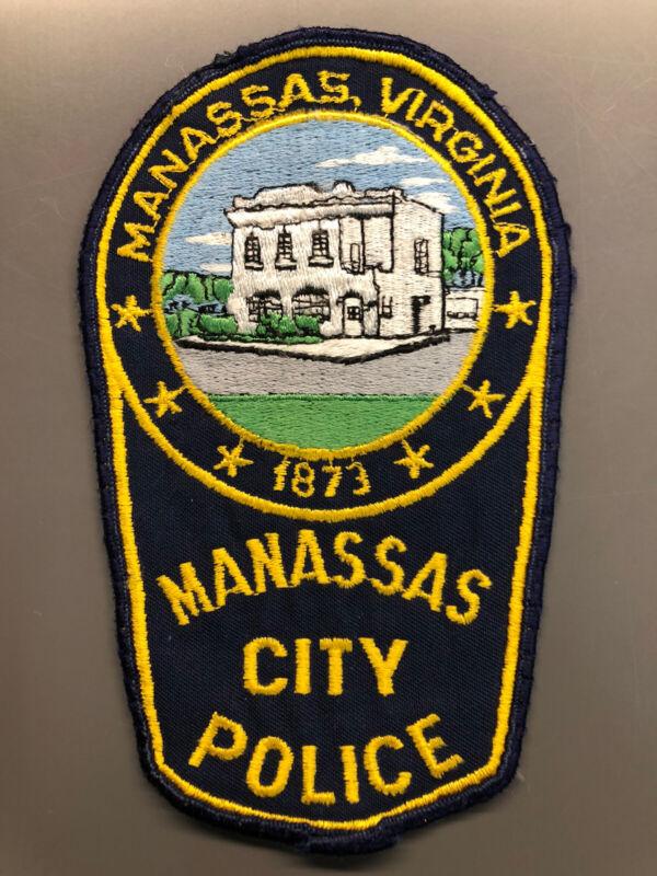 Manassas Virginia Police Patch