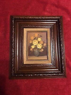 Vintage Oil painting by R/C (CB-89)