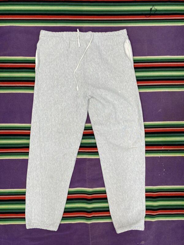 vintage champion reverse weave sweatpants 70s 80s Large