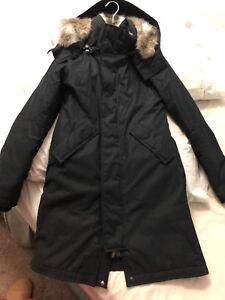 TNA winter coat 3/4 length