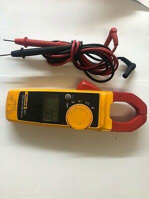 Fluke 323 Clamp Meter True Tester Rms 600v Ac Dc 400 Amp 600v Cat Iii Iv