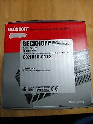 Beckhoff Cpu Module Cx1010-0112 New
