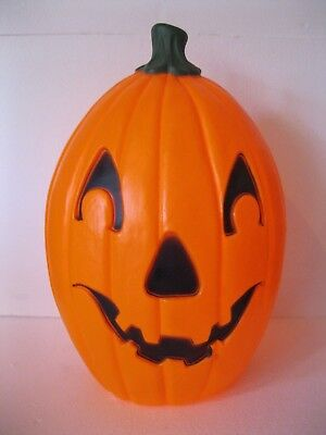 Blow Mold Halloween Pumpkin Union Products Don Featherstone