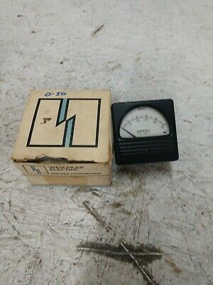 Weschler Instruments 0-50 Amperes Panel Meter