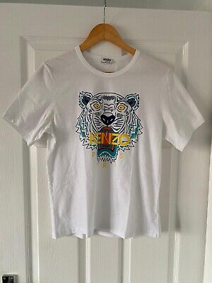 Kenzo Tiger T-shirt White Limited Edition Sz Small