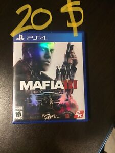 PS4 mint condition game